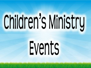 Children's Ministry Events